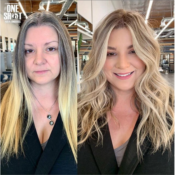 Jenn Malone @jmalonehair Haircolor Transformation Gray Coverage Blonde Babylights Makeover Color Correction How To Sun Kissed Natural Blonde Blonding Bright Dimension